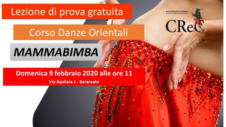 Incontro di presentazione corso Danze Orientali MAMMABIMBA