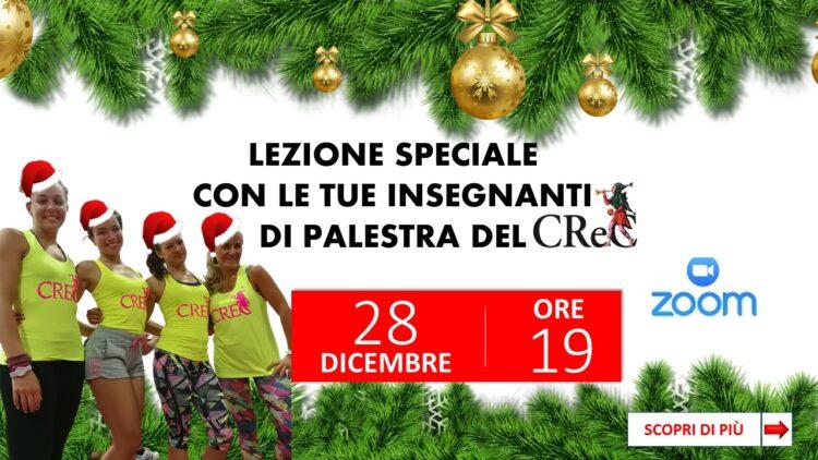 Lezione a corpo libero il 28 dicembre per tutti i soci CReC!