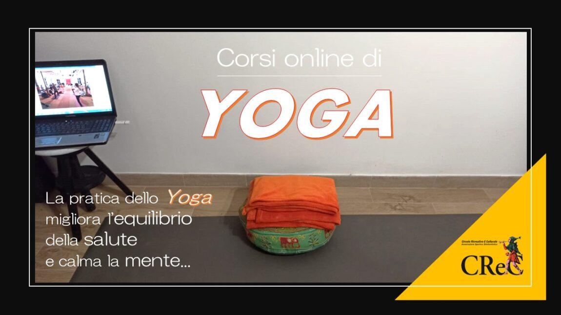 Lezione online di Yoga