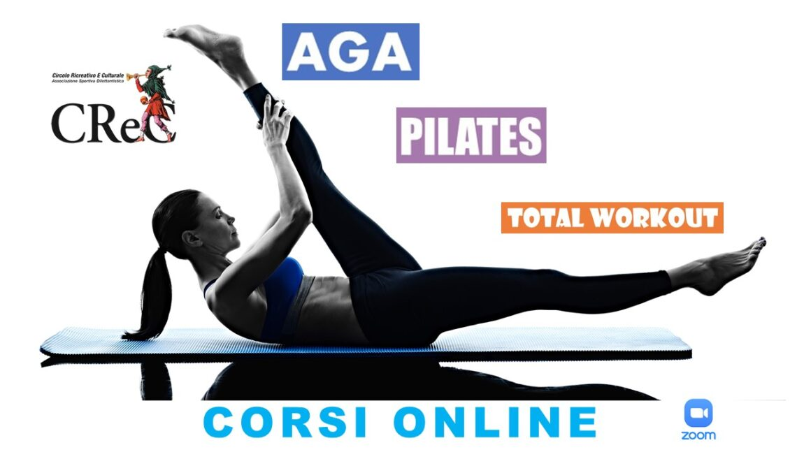 Corsi online AGA TOTAL WORKOUT PILATES aprile-giugno 2021