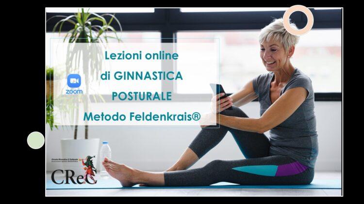 Lezioni online Ginnastica posturale con Metodo Feldenkrais aprile-giugno 2021
