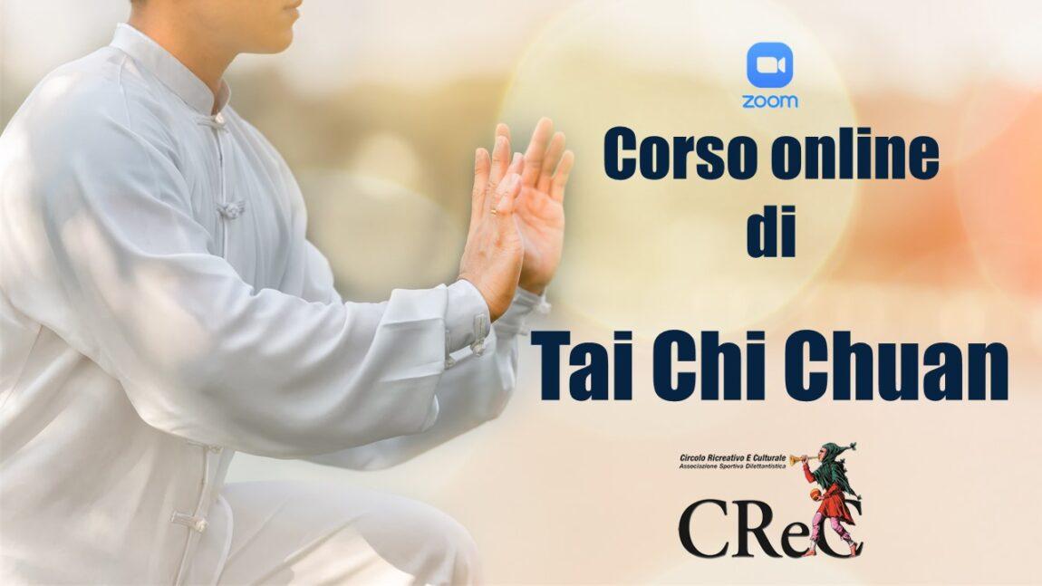 Nuovo corso online di Tai Chi Chuan aprile-giugno 2021