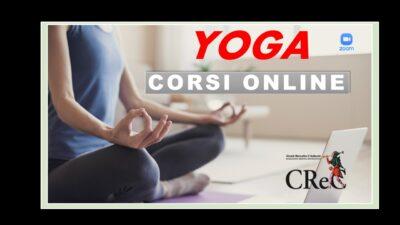 Lezioni online di Yoga aprile-giugno 2021