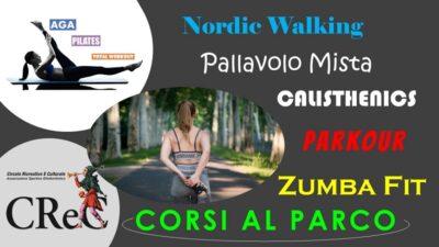 Nuovi Corsi al parco da maggio 2021